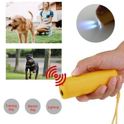 Ultrasonic Anti Bark Stop Barking Pet Dog Puppy Train Repeller Trainer Device