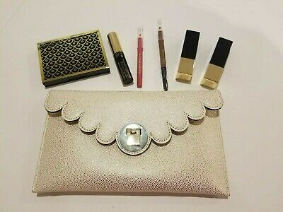 New Estee Lauder Gift Pack with Double Wear Mascara, Eye Shadow, 2 x Lipstick