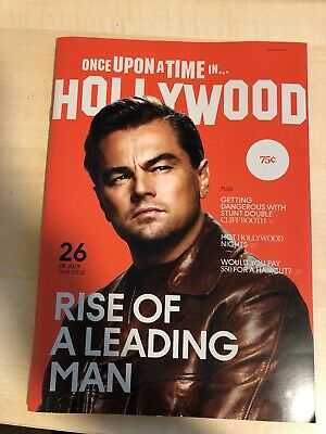 Once Upon A Time In Hollywood Quentin Tarantino Leo Dicaprio Brad Pitt Magazine
