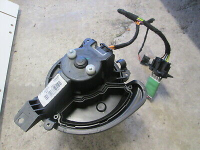 2013 Vauxhall Corsa D Heater Blower Motor And Resistor And Wiring 13335074