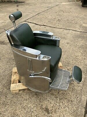 Late 1950s Early 1960s Koken President Barber Chair
