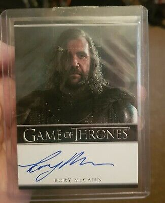 Game Of Thrones Rory McCann As The Hound Autogrpah Card