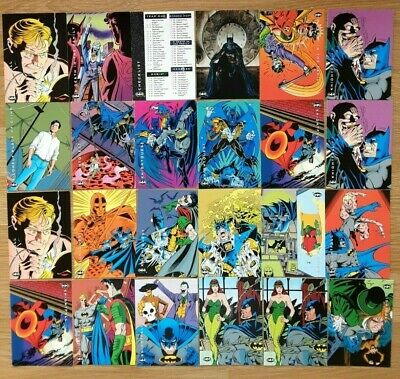. Batman Saga Of The Dark Knight Cards, Price Is Five Cards For £2.00