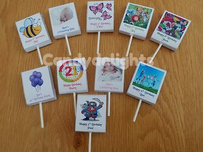 200 Personalised Lollipop WRAPPERS Birthday Party Favours for any occasion