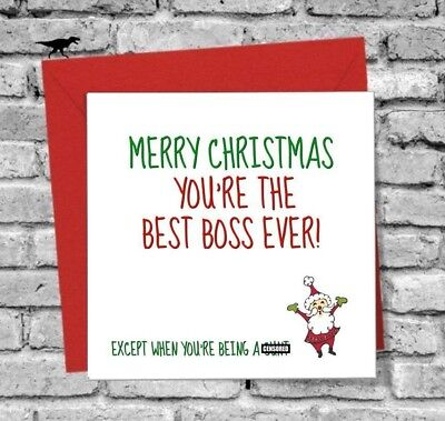 What to write on the boss's Christmas card