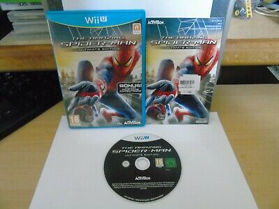 THE AMAZING SPIDER-MAN ULTIMATE EDITION NINTENDO Wii U GAME BUY IT NOW.