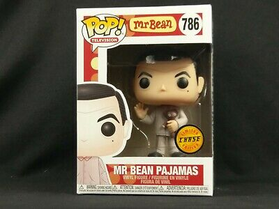 Chase Mr Bean In Pajamas With Teddy Bear Funko Pop Vinyl Figure #786
