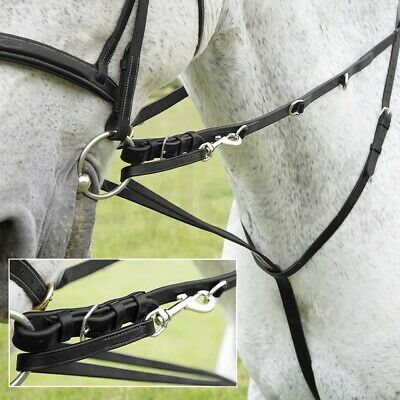 Leather Market Harborough With Free Reins Black Brown All Sizes **£19.69**