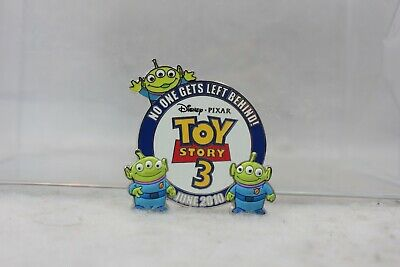 Disney Parks LE 3000 Pin Opening Day Toy Story 3 Aliens Little Green Men 2010