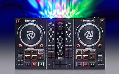 DJ MIXER CONTROLLER Equipment USB Mix Starter Kit with Virtual DJ LE