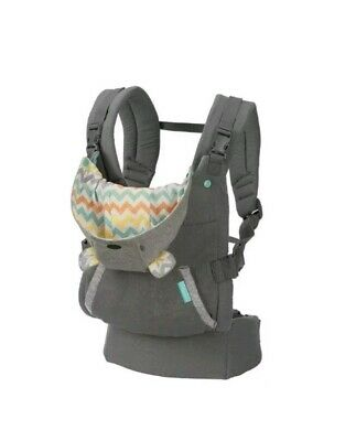 Infantino Cuddle Up Ergonomic Hoodie 2 Ways infant & Toddler Carrier Sling Pouch