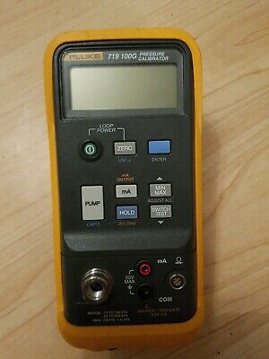 Fluke 719 100G Electric Pressure Calibrator (7 bar)