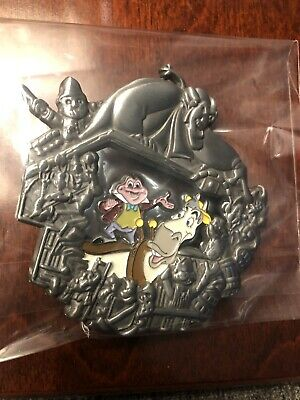 WDI D23 LE 300 Mr Toad Wild Ride Stained Glass Disneyland Attraction Disney Pin