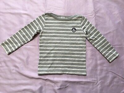 Petit Bateau Baby Boys Long Sleeve Striped Top 95 / 3 Yrs