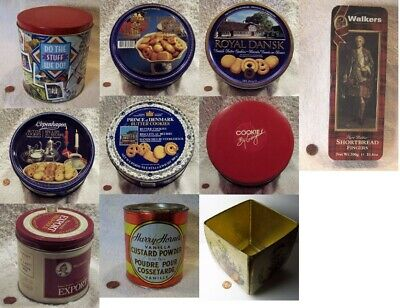 (12) Vintage Collector Tins: Variety Of Types: You Pick, Choose From (12)+BONUS!