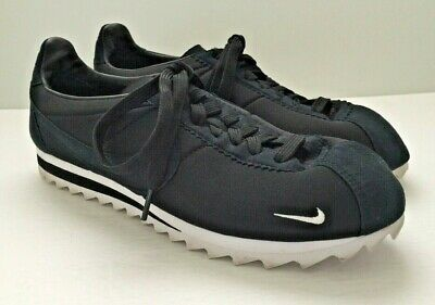 the latest 91b4d f3079 EUC NIKE CLASSIC CORTEZ SHARK SP 'Big Tooth' Sz 9 Black Neoprene & Suede  Sneaker