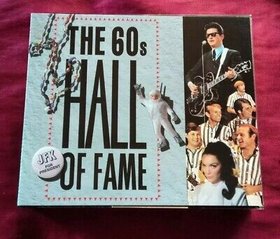 READERS DIGEST: THE 60s HALL OF FAME DISCS 1,2 & 3 - 3CD FATBOX