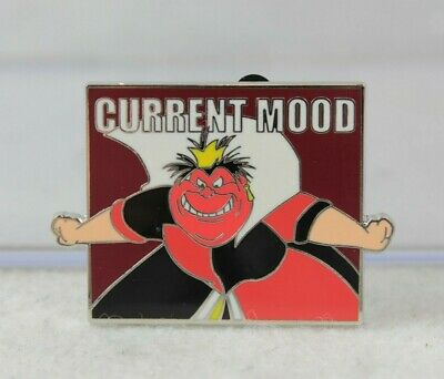 Disney Parks Pin Current Mood Mystery Set Queen of Hearts Alice in Wonderland