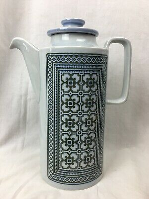 Hornsea England Tapestry Coffee Tea Water Pitcher