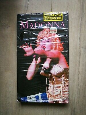 Madonna Interactive Music Pack MIDI DISK + SONGBOOK EROTICA SEALED