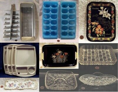 (13) Vintage Collector Trays: Variety Of Types: You Pick, Choose From (9)+BONUS!
