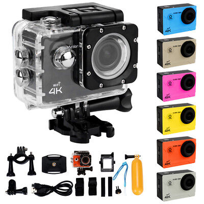 Ultra 4K Full HD 1080P Waterproof Sport Camera WiFi Action Camcorder as Go Pro S
