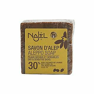 Najel Traditional Aleppo Soap Laurel Oil 30% - 200g Problematic Skin