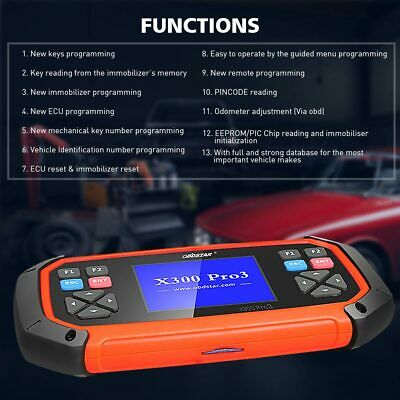 OBD2 ODO-METER CORRECTION Key Programming EEPROM C+D+E Immobilizer