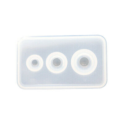 Transparent Silicone Mould Resin Decorative Craft Diy Different Sizes Unive