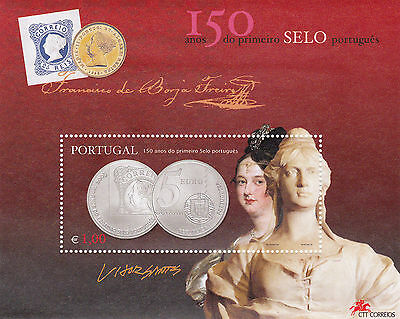 Portugal  150 Years First Portuguese Stamp (2003)   Mnh (**)
