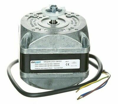 EBM-Papst Q-SERIES REFRIGERATION FAN MOTOR 16W 1-Phase 4-Poles 450mm Lead