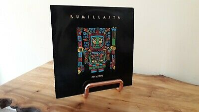 """Copper Pipe Vinyl 7"""" 12"""" LP Record Stand Storage Holder Made to Order"""