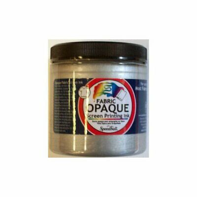 Speedball Art Products 4807 Opaque Screen Ink Silver 8Oz