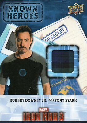 2016 Marvel Captain America Civil War; Known Heroes Costume Relic Card KH-TO