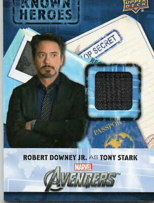 2016 Marvel Captain America Civil War; Known Heroes Costume Relic Card KH-TS