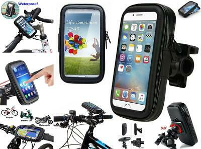 360° Waterproof Bike Bicycle Phone Case Mount Holder For All Mobile Phones
