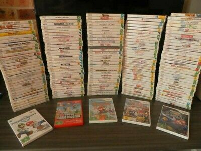 Nintendo Wii Games Individual Sale FREE POSTAGE (more added) Wii U Compatible