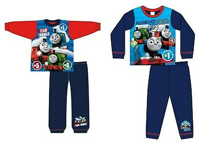 Children Kids Baby Girls Boys Character Football Long Sleeve Pyjamas Pjs set