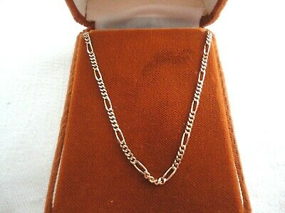 VINTAGE 375 HALLMARK Italian 9ct gold rope chain necklace - £41 00