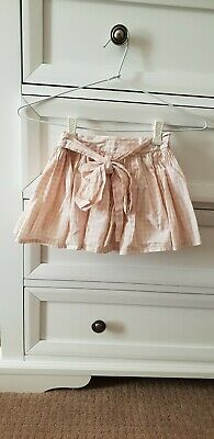 Seed Heritage girls pink gingham skirt - size 4