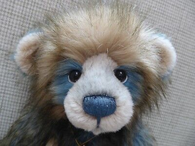 Charlie Bear 'Dakota', Large Handsome, Plumo, Limited Edition, Very Rare.