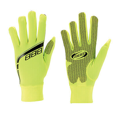 BBB RaceShield Winter Cycling Gloves Neon Yellow - Small