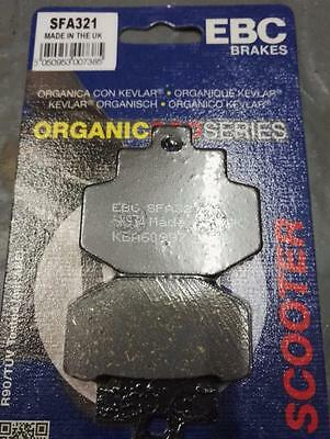 Vespa GTS 300 ie Super EBC Front Rear Brake Pads Made in UK Organic