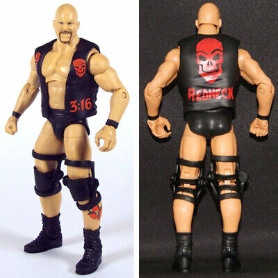 WWF WWE Texas 3:16 Stone Cold Steve Austin Elite Wrestling Action Figure Kid Toy