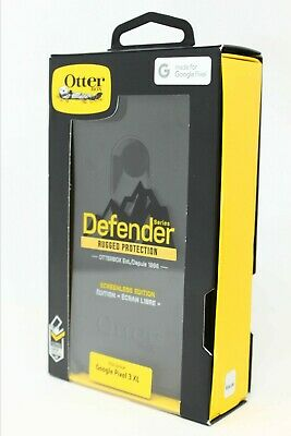 OtterBox Defender Series Case w/ Holster Clip for Google Pixel 3 XL - Black NEW