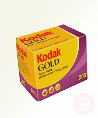 Kodak 6033963 Gold 200 135/24 Film (Pack of 2)