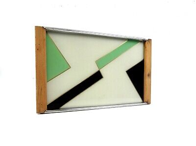 Avantgarde German Suprematism Bauhaus Geometric Cubist Tray Art Deco 1930