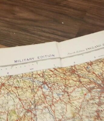 13 x Large Military R.A.F Maps, S Dover, N Wales +Manchester, Frankfurt