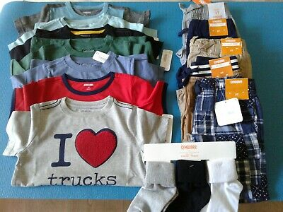 Nwt $282 Rv Gymboree  Boys Size 2T 15 Pcs  Lot Outfits Summer Spring Fall