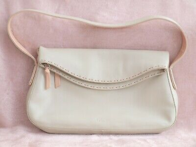 TULA by Radley Leather Bag Beige VGC